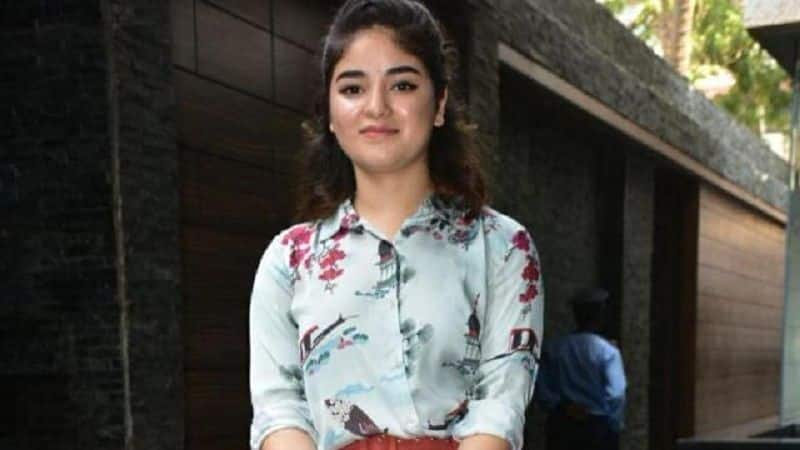 Zaira wasim would be part of bigg boss season 13, she decided to quit bollywood