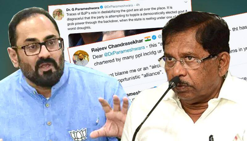 Rajeev Chandrasekhar gives befitting reply to Karnataka Congress over 'aircraft' allegations