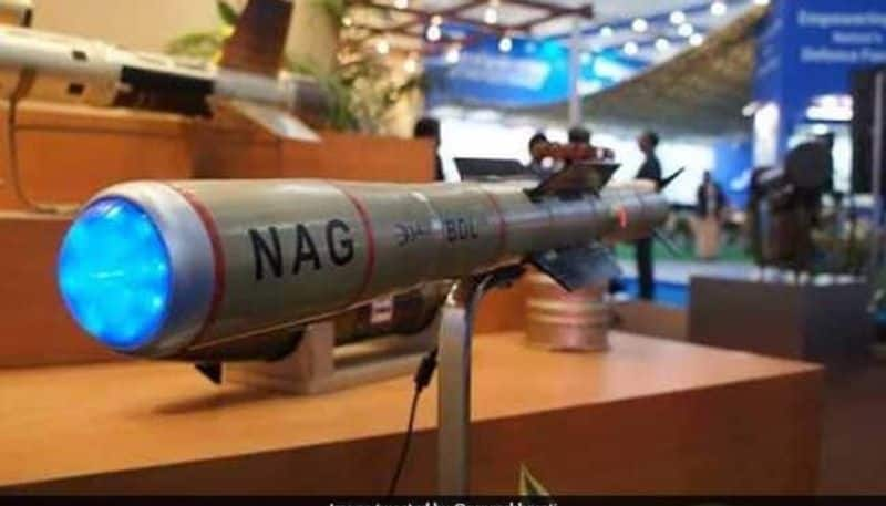 With the help of Nag Missile Indian army can destroy China and pakistan tank division with in seconds
