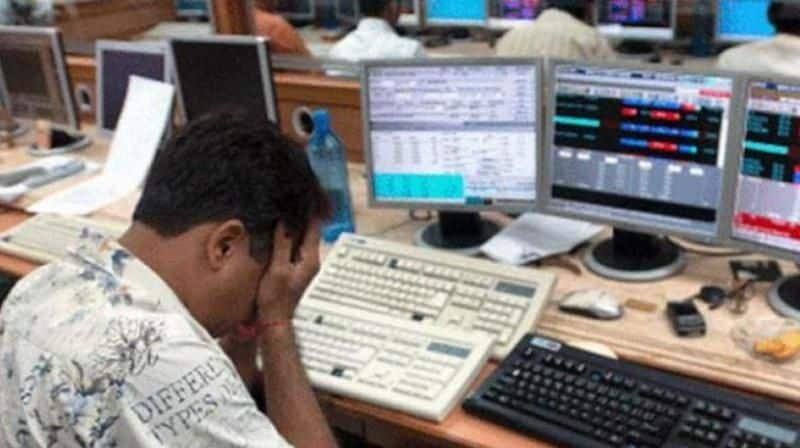 Indian stock market consecutively third day open in red signal, investors lost money