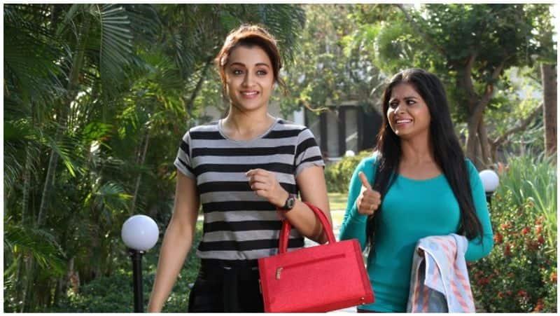 karjanai thrisha movie news
