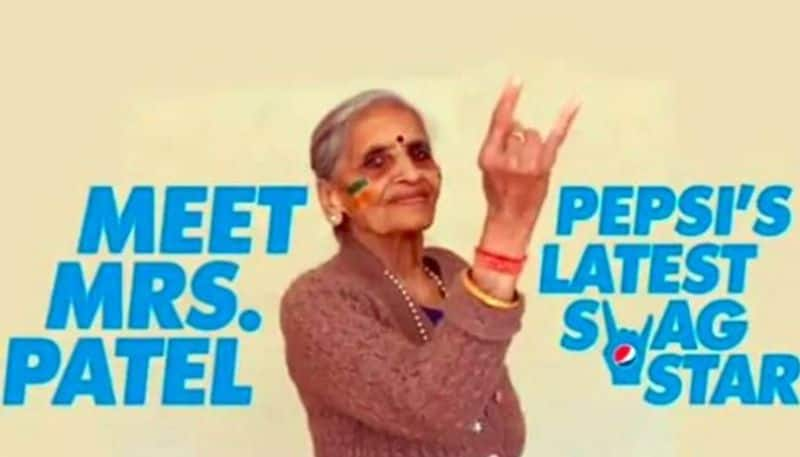 World Cup 2019 Pepsi signs 87-year-old Indian fan Charulata Patel