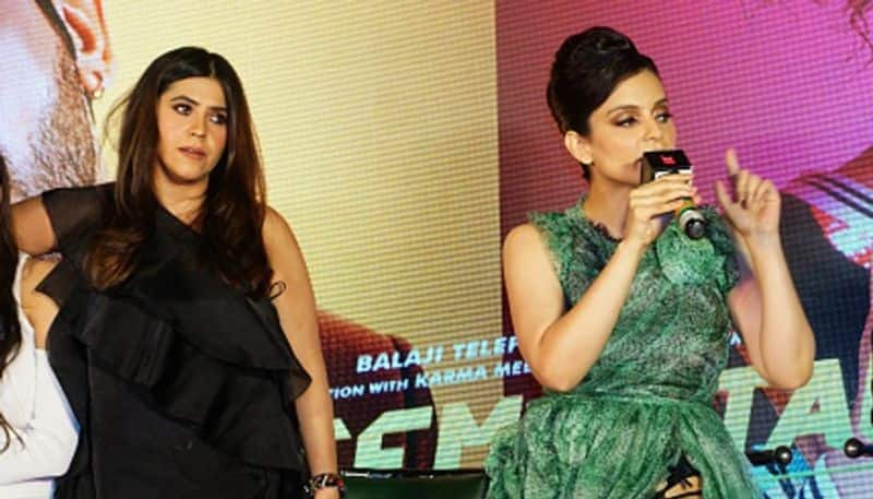 After Kangana Ranaut's public fight with journalist, Ekta Kapoor says she's gone 'mental'