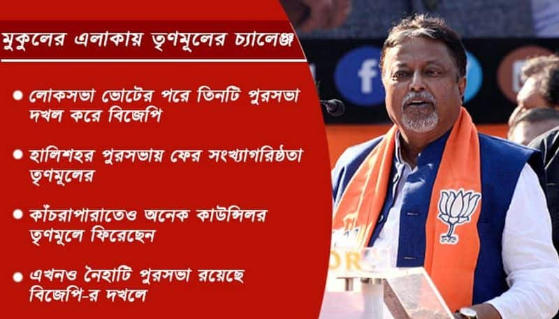 TMC gives a strong fight to BJP in Mukul Roy's strong belt