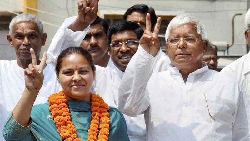 ED files additional charge sheet in laundering case against Lalu's daughter