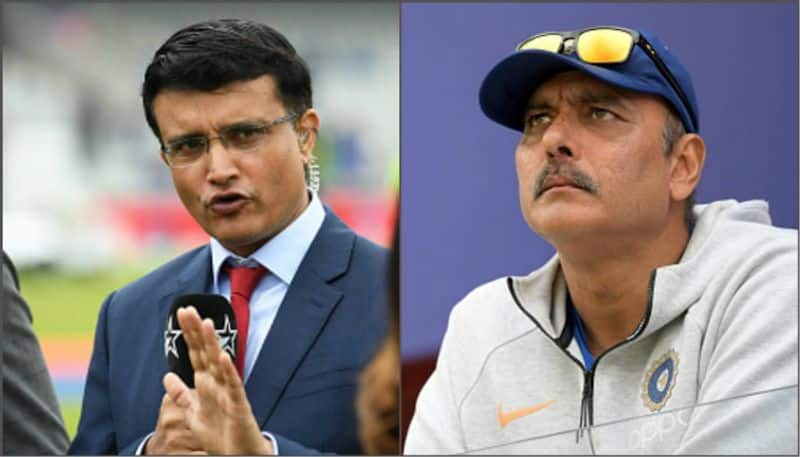 Sourav Ganguly wants Ravi Shastri  should be associated with NCA along with head coach job