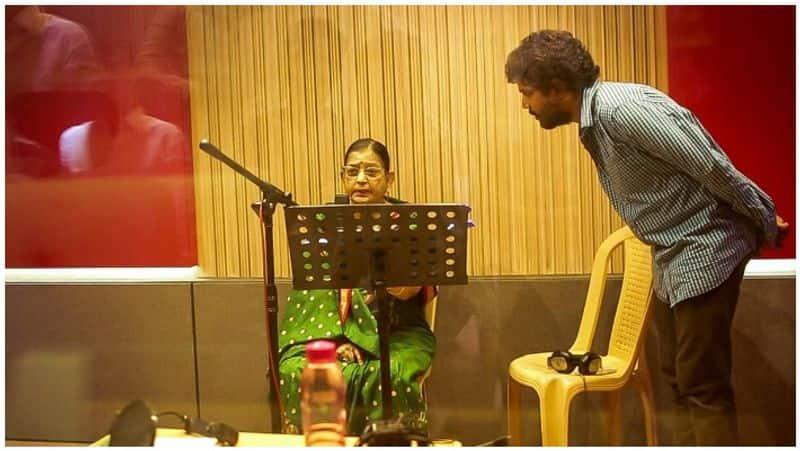 p.suseela sings for aadai movie
