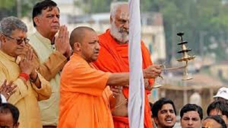 Mahant became cm Yogi, told ministers how to follow Rajdharma