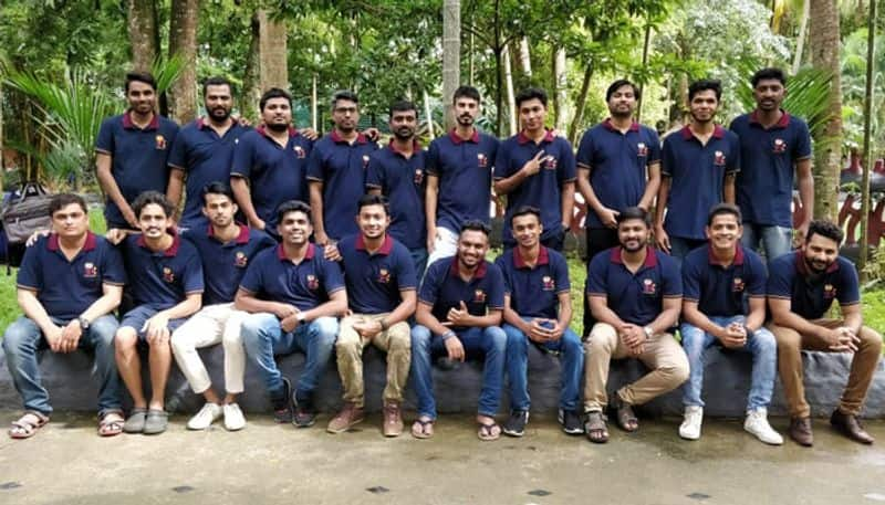 FC Barcelona kerala fans gathering at Kochi for the first time