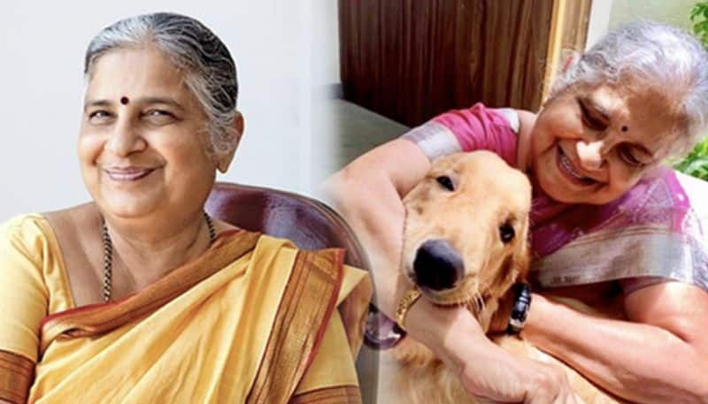 Author Sudha Murthy to pen children's trilogy inspired by pet dog Gopi