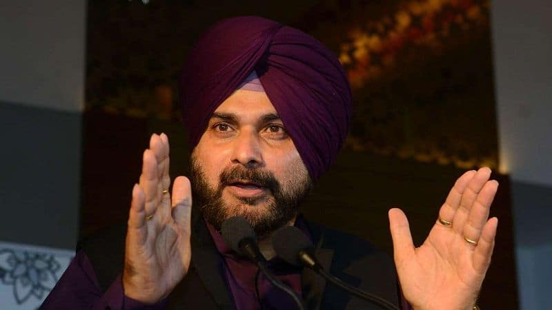 Navjot Singh Sidhu resigned from captain Amarinder Singh cabinet, send to party president despite of chief minister