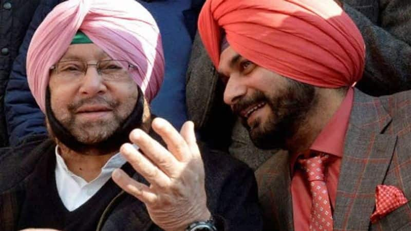Navjot Singh Sidhu will be a disaster for the Congress party...amarinder singh