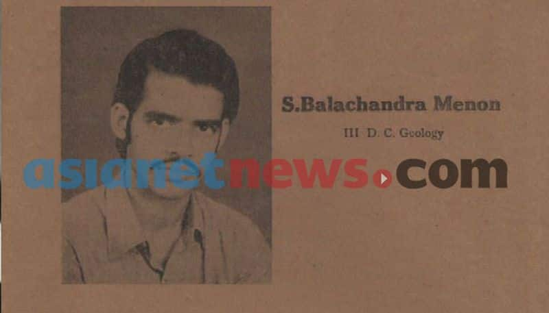 how can a normal human being can stab a collegemate asks former university college chairman balachandramenon