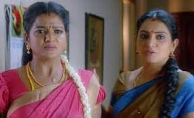pandiyan stores seriyal actress leave the seriyal