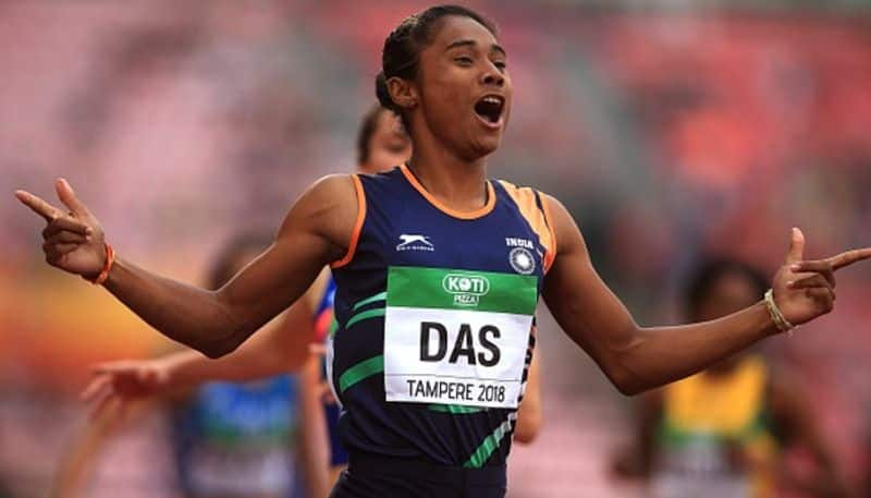 Hima Das clinches 4th gold 15 day Anas too takes top spot