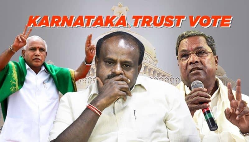 Karnataka ruling opposition parties approach SC governor sets deadline CM Kumaraswamy