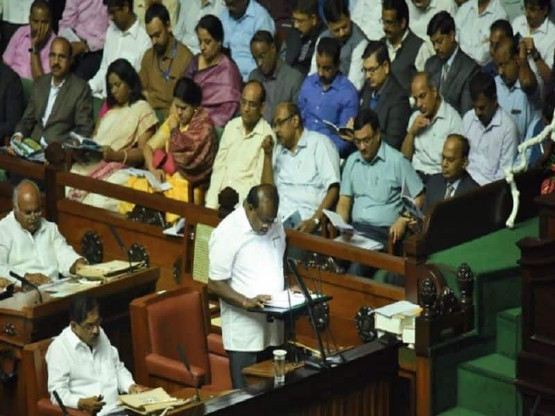 Kumaraswamy government presented trust vote in assembly, this is the magic figure for formation of government