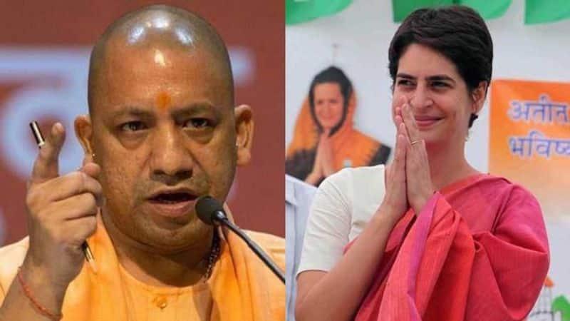 Priyanka Gandhi Vadra appreciated Yogi Adiyanath security during her tour in Uttar Pradesh