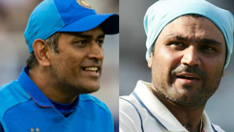dhoni playing for his own beneficiery