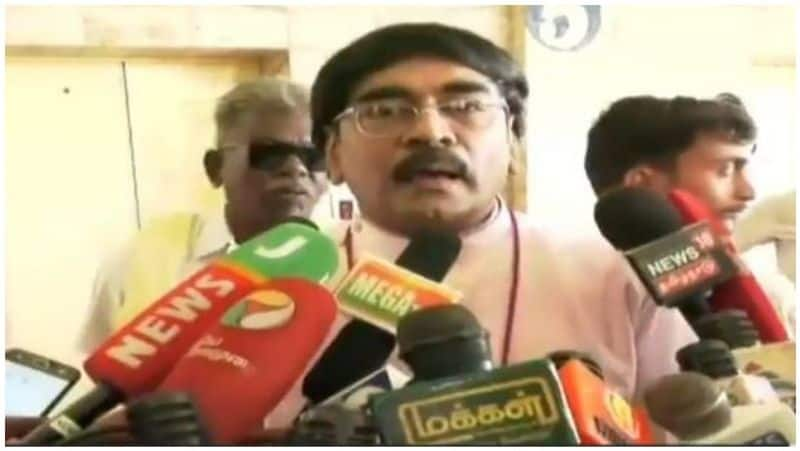 Duraimurugan's son was a church father who paid homage to Kathir Anand
