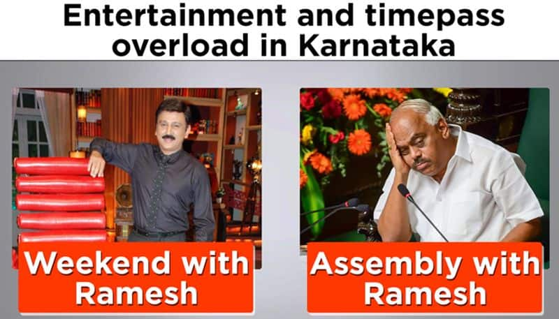 Weekend with Ramesh: From chief guest to minister, entertainment moves to Assembly
