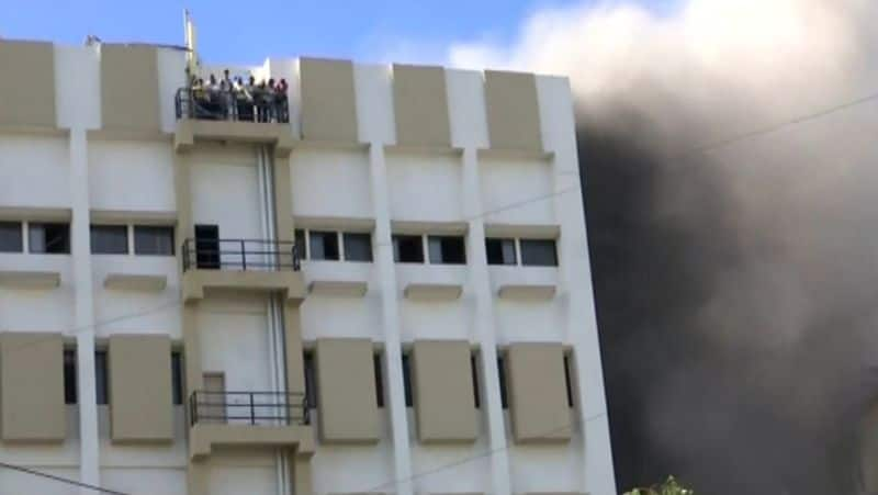 Mumbai: 84 rescued after fire breaks out in MTNL building in Bandra