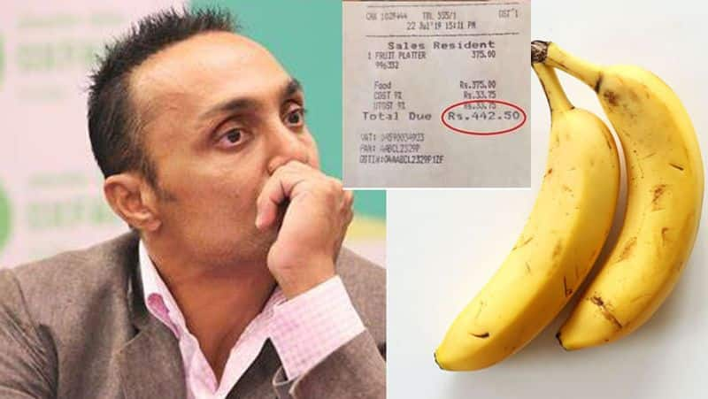 #MyRahulBoseMoment: Twitterati go crazy as Bollywood actor Rahul Bose receives Rs 442 bill for 2 bananas