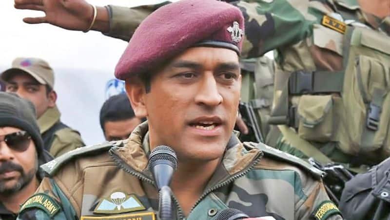 dhoni starts army parachute regiment