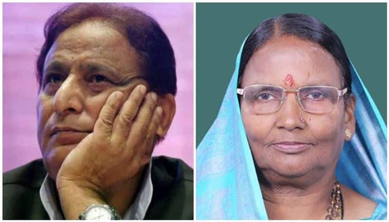 Azam Khan made a controversial comment on the woman MP in Parliament