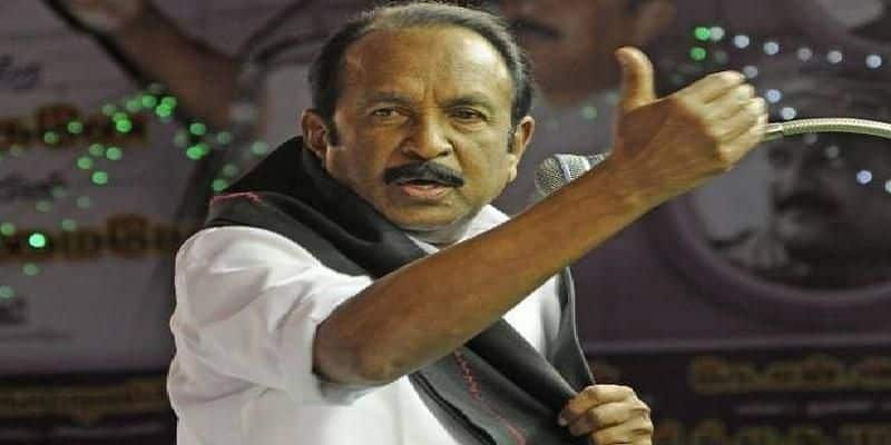 vaiko condemns central government