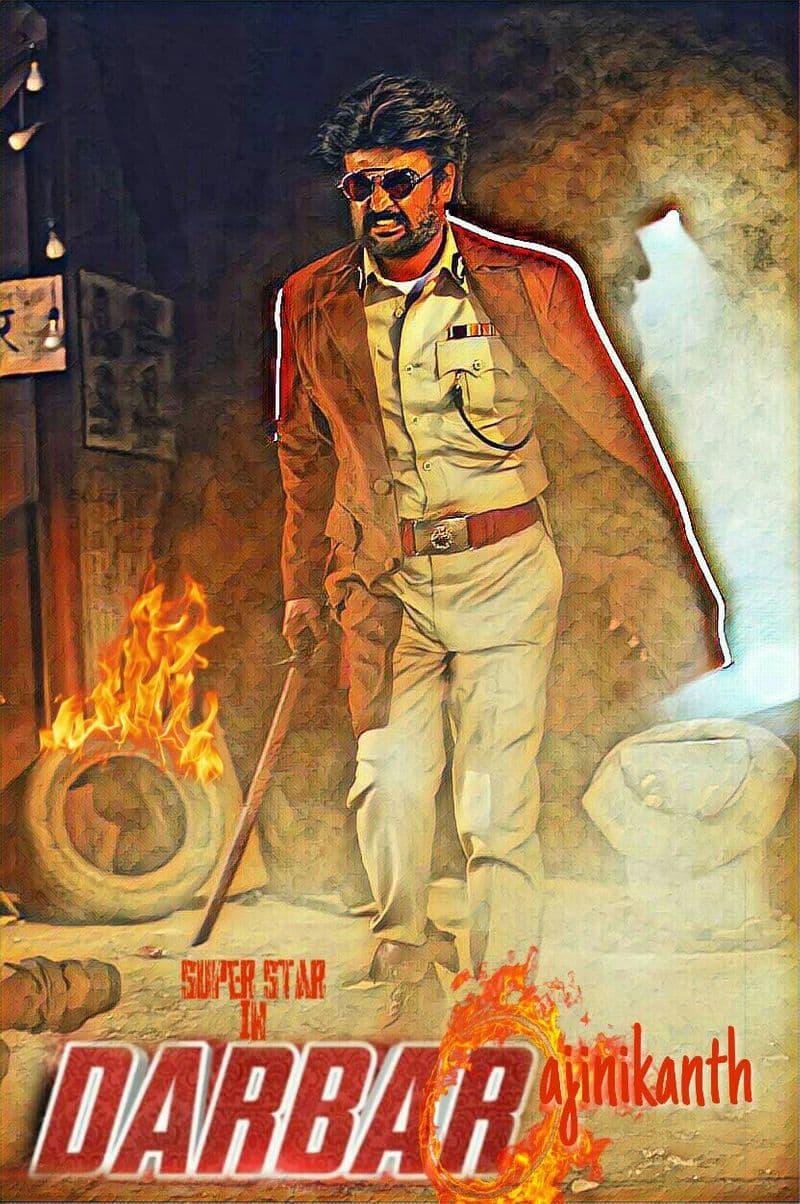 rajini's darbar movie designs