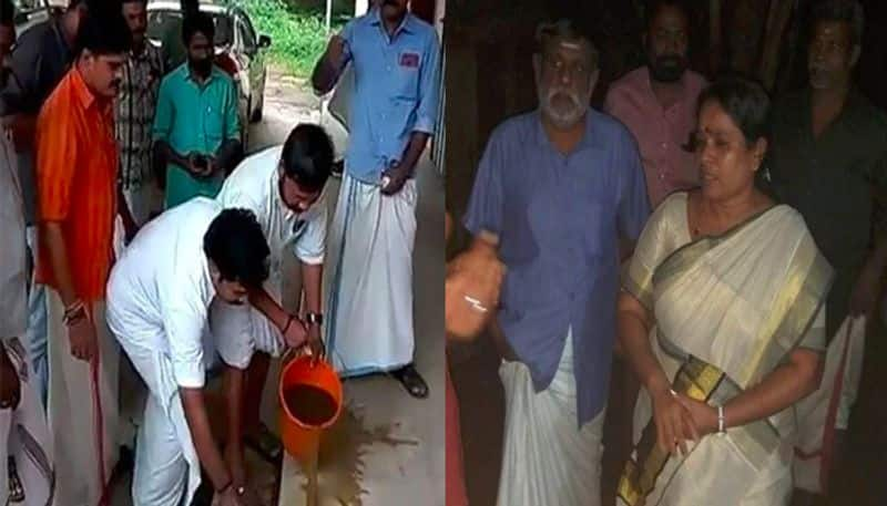Kerala Youth Congress cow dung purification sparks controversy in state