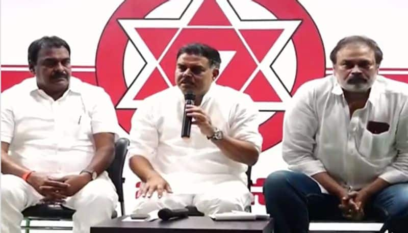 janasena party political affairs committee chairman nadendla manohar fires on ysrcp government