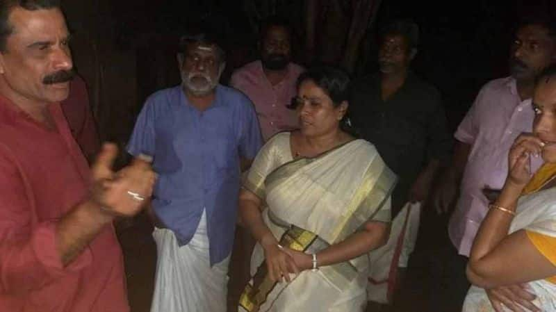 Kerala dalith mla misbehauved by congress