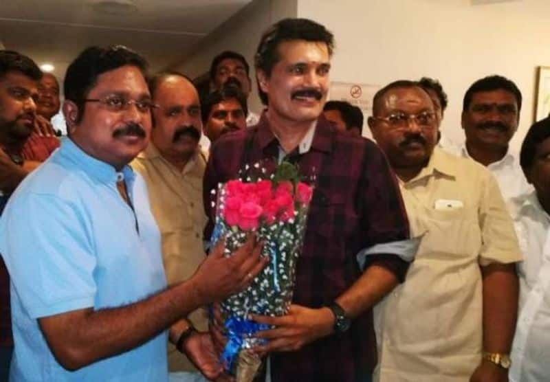 actor ranjith out fram AMMK and join bjp
