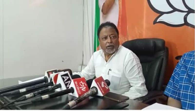 Mamata is trying to murder bjp leaders, says mukul roy