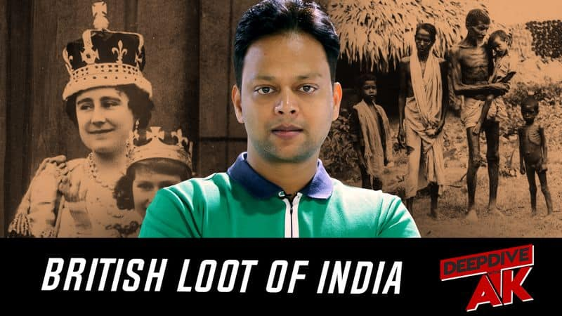 Deep Dive with Abhinav Khare How Britain has drained trillions of dollars from India