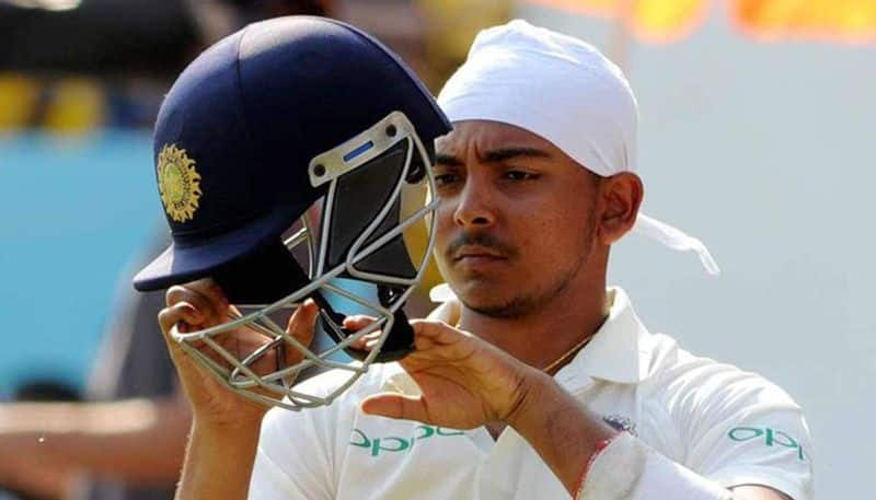 Team India cricketer prithvi shaw dismissed from team next eight months