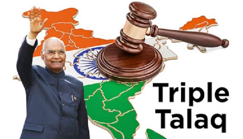 Triple talaq becomes official as President Kovind gives his assent