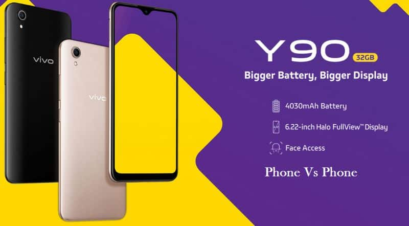 Vivo Y90 Smartphone Launched in India Price Features