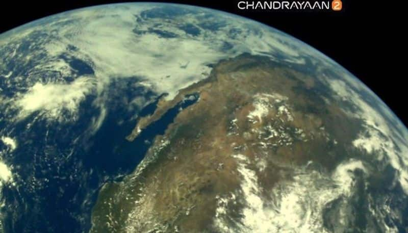 Chandrayaan-2 pictures: ISRO releases images of earth captured by moonbound machine