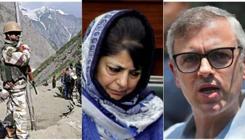 Omar and Mehbooba under house arrest, Section 144 as well as schools and colleges closed