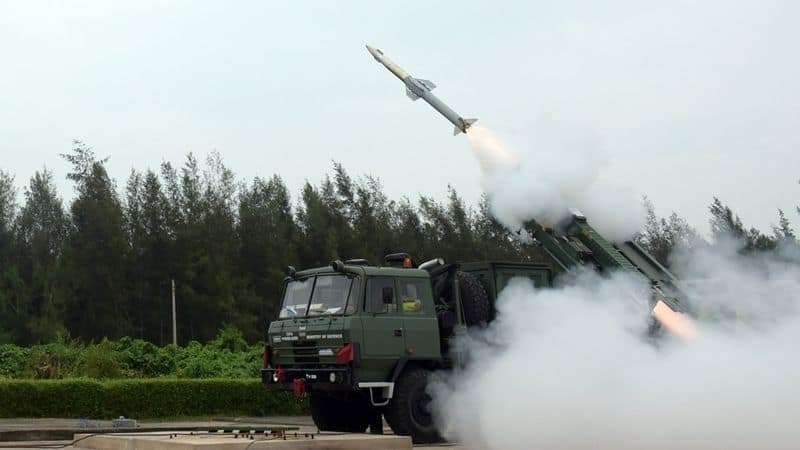 DRDO successfully tested QRSAM missile in odisha chandipur
