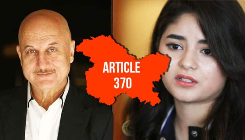 Article 370 scrapped: Here's how Bollywood celebs reacted to bifurcation of Jammu, Kashmir