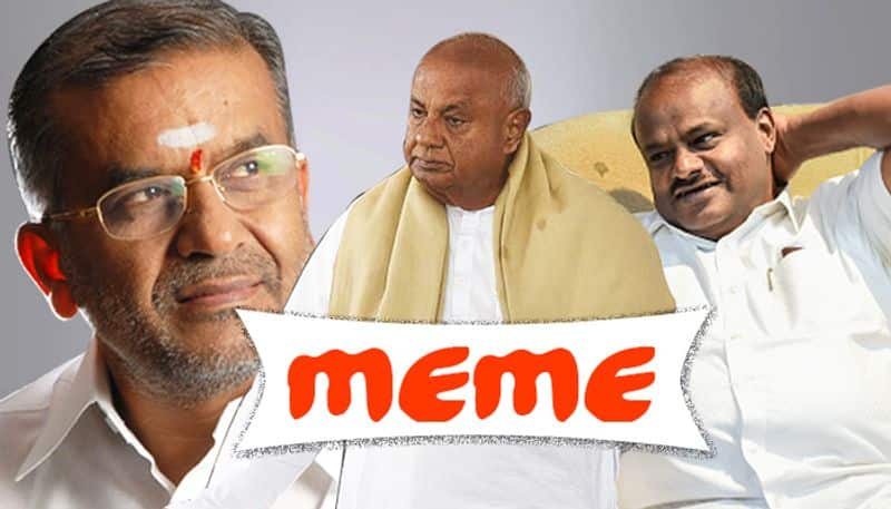 Will Deve Gowda turn Lord Krishna to save JDS from 'I quit' storm?