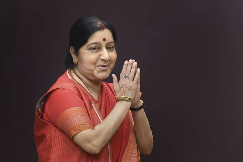 Sushma Swaraj breathes her last BJP leaders rush to AIIMS