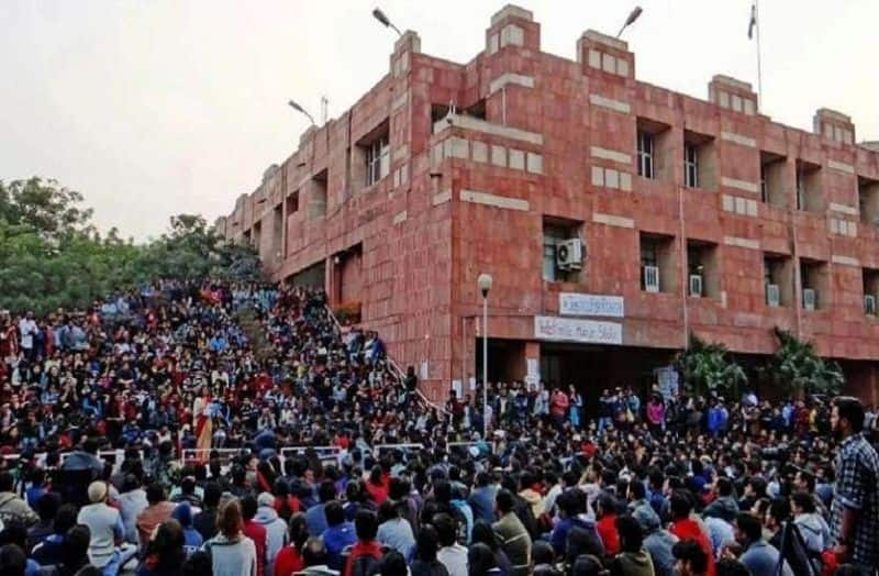 Know why JNU is not in Kashmir, protest against the removal of Article 370
