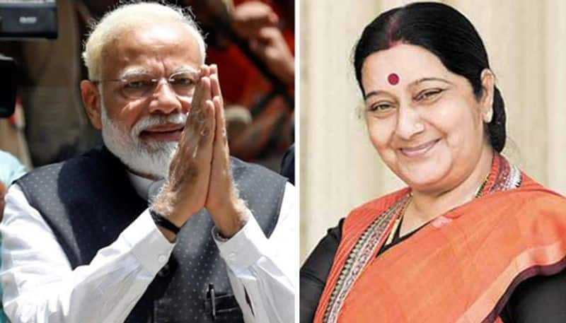 Heres why PM Narendra Modi remains indebted to Sushma Swaraj