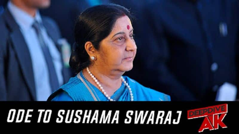 Deep Dive with Abhinav Khare Why Sushma Swaraj will always be known as people friendly minister