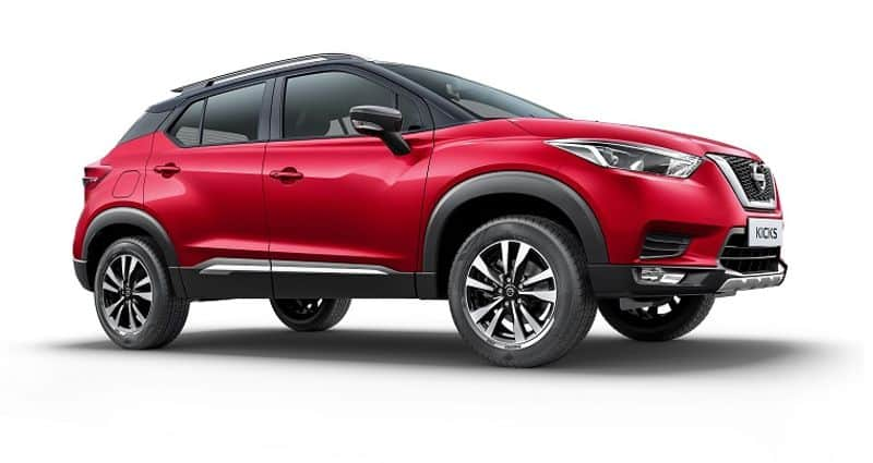 Nissan is offering benefits of up to Rs. 1.63 lakh with the BS4 compliant Nissan Kicks SUV.